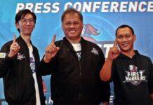 Business Unit Head Wilayah Jawa Tengah Link Net Kusnuryono (tengah) mengajak kaum milenial Kota Semarang mengikuti turnamen esport Firts Warriors, Kamis (19/9).
