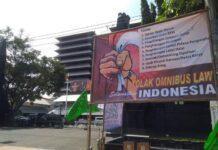 Poster Penolakan RUU Omnibus Law