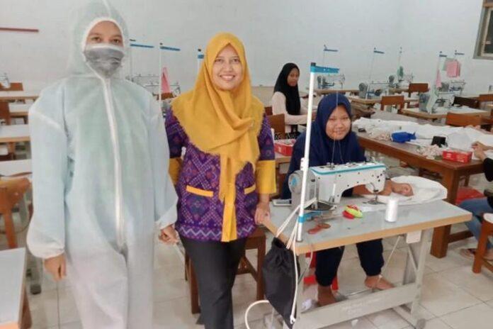 APD buatan siswa SMK Jepara
