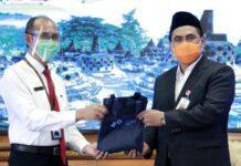 Taj Yasin terima data miskin BPS Jateng