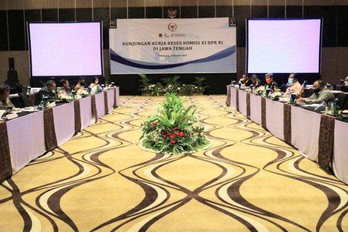 Rombongan Komisi XI DPR RI