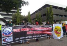 Massa Garteks Jateng gelar aksi unjuk rasa