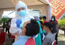 Rapid Test Antigen kepada pemudik