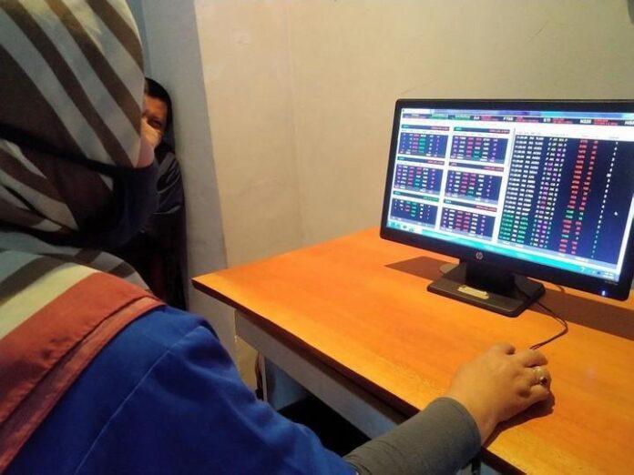 Pergerakan pasar bursa saham