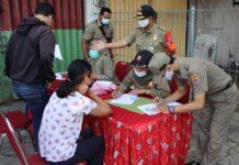 Petugas Satpol PP Kota Semarang