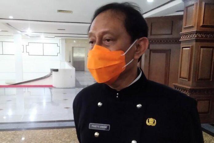 Prasetyo Aribowo, Plt Sekda Jateng