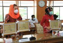 Penghargaan atas inovasi yang diberikan Pemprov Jateng kepada Kota Magelang