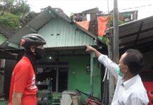 Ketua RW 7 Samin Hadi Priyono