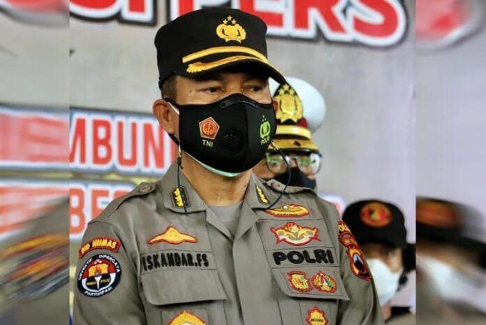 Kombes Pol Iskandar Fitriana, Kabid Humas Polda Jateng.