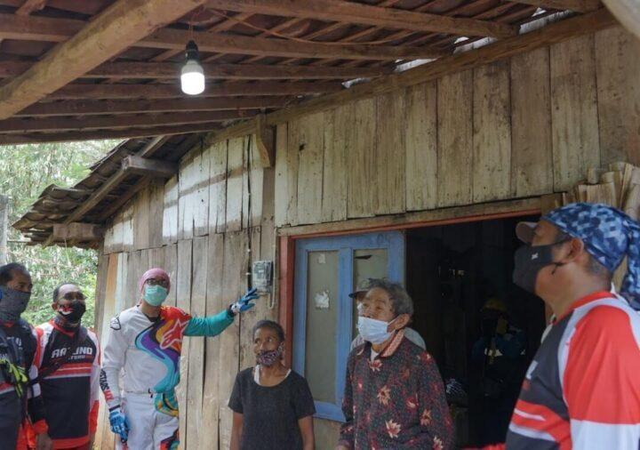 Kegiatan PLN Virtual Charity Run and Ride 2020 di Kabupaten Magelang
