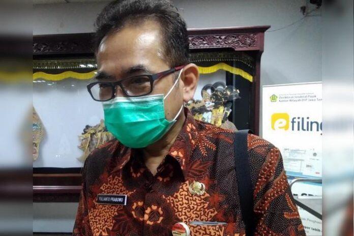 Yulianto Prabowo, Kepala Dinkes Jateng.
