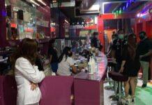 Razia PPKM mikro di sejumlah tempat hiburan malam