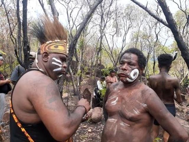 Mahasiswa ISBI Tanah Papua