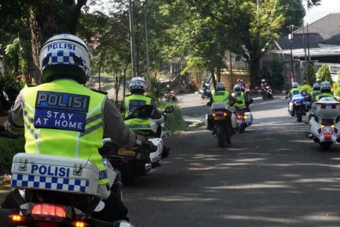 Patroli Ditlantas Polda Jateng