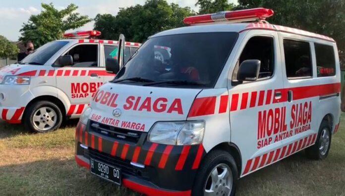 Mobil ambulan Siaga milik MIK Semar