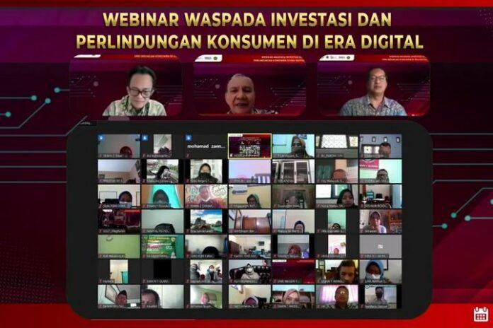 Webinar Waspada Investasi