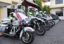 Anggota Satlantas Polrestabes Semarang
